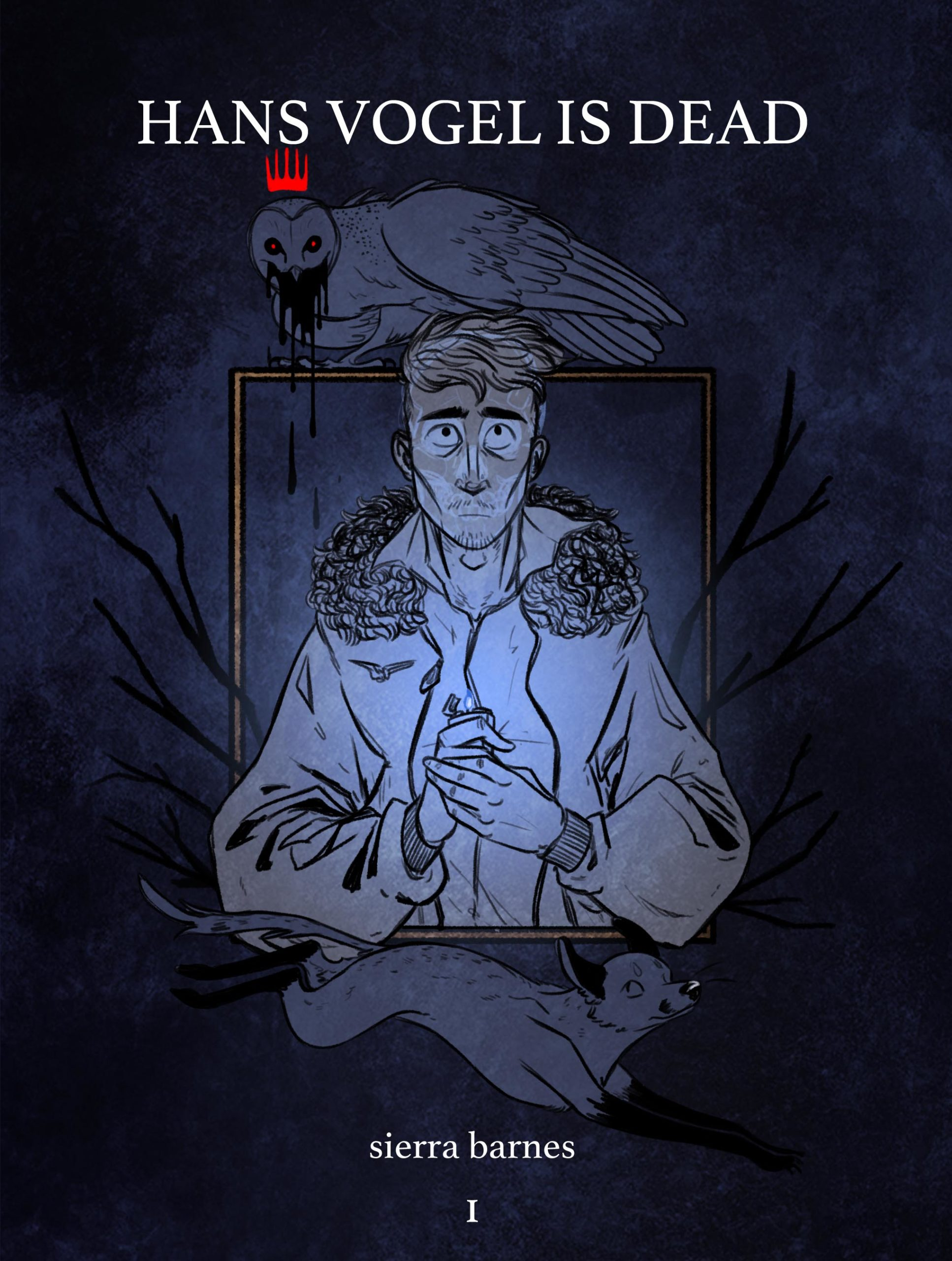 Hans Vogel is Dead: Vol 1 Cover
