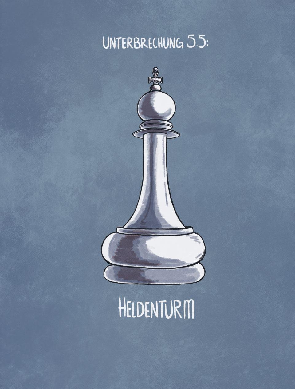 Heldenturm Title
